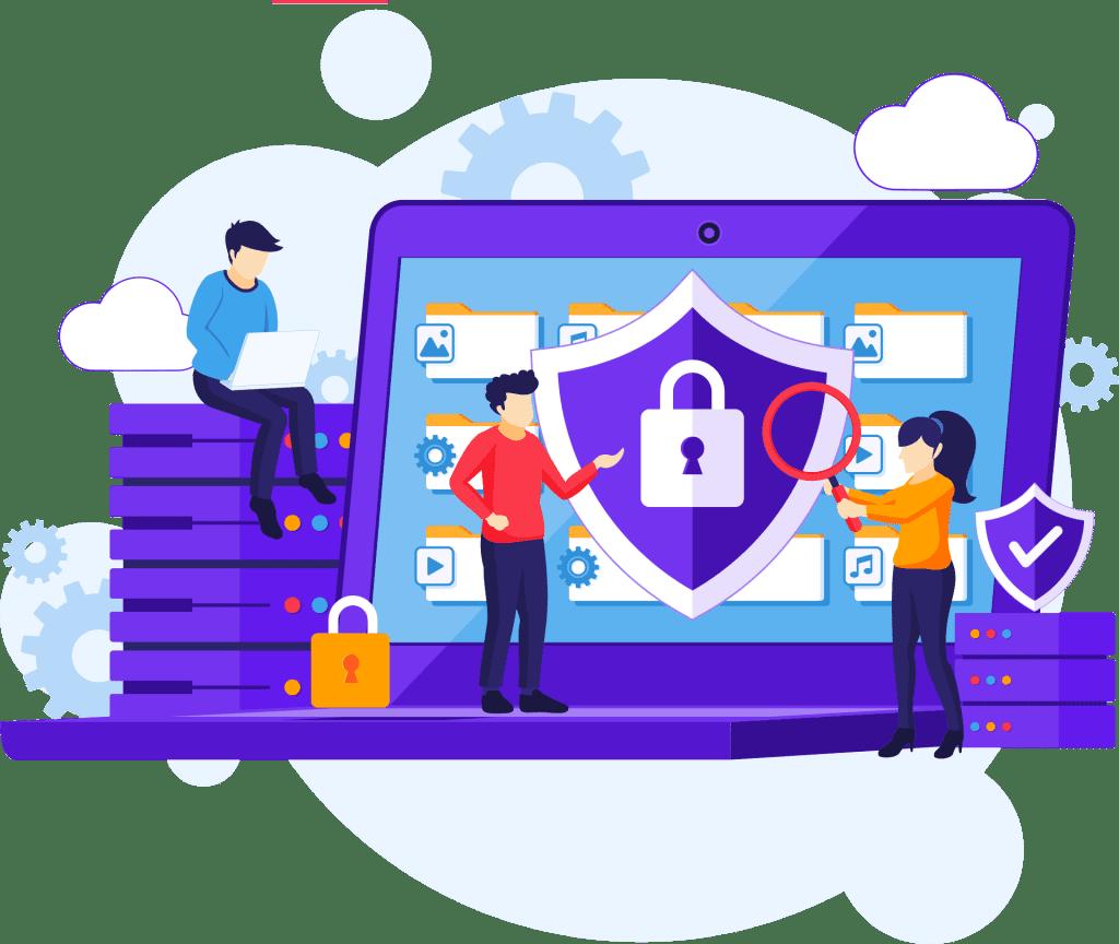 Illustration Datenschutz