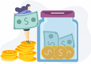 Illustration Geld
