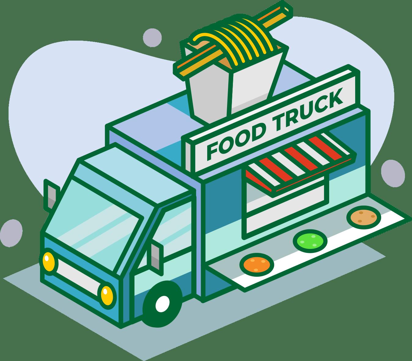 Illustration Truck